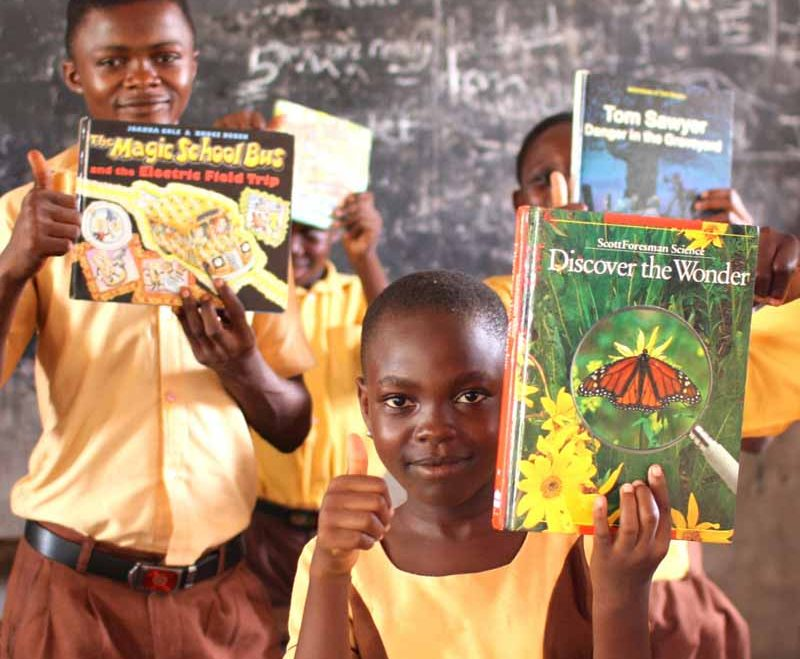 The Book Fairies bringing Literacy to Africa!