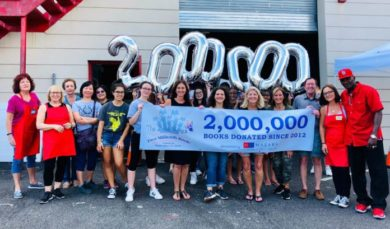 Book Fairies Marks 2 Millionth Book Donation