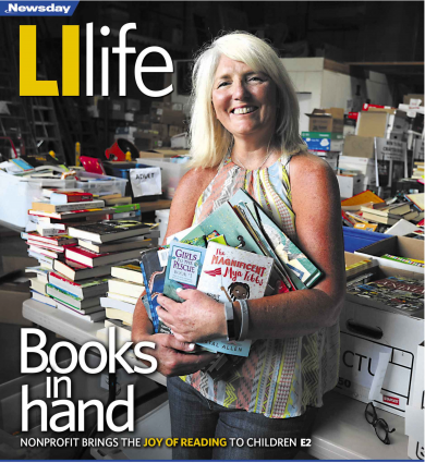 Nonprofit Brings the Joy of Reading to Children – Newsday